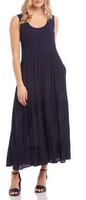 Karen Kane Tiered Midi Dress