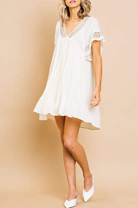 Umgee USA Babydoll Crochet Dress