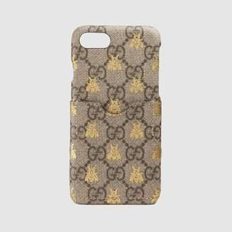 Gucci (グッチ) - ビー(ハチ) GGスプリーム iPhone 7 ケース