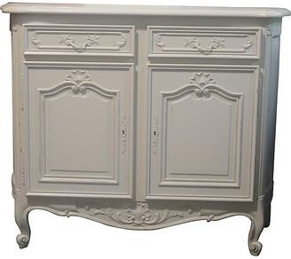 One Kings Lane Vintage Louis XV-Style Painted Buffet - Chez Marie Antiques