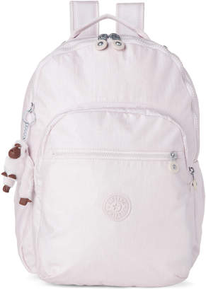 Kipling Whimsical Pink Seoul Solid Laptop Backpack