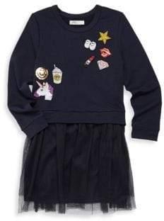 Pinc Premium Little Girl's Long-Sleeve Dress