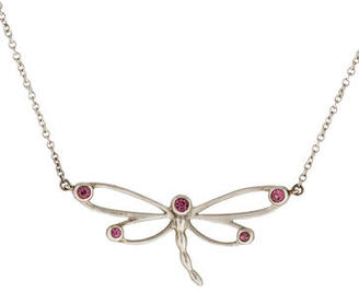 Tiffany & Co. Tourmaline Dragonfly Pendant Necklace $275 thestylecure.com
