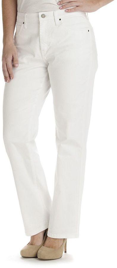 Lee Comfort Waist Relaxed Straight-Leg Jeans - Women's