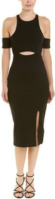 Finders Keepers Finders Cold-Shoulder Sheath Dress