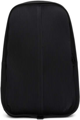 Issey Miyake Homme Plisse Black Pleats Day Backpack