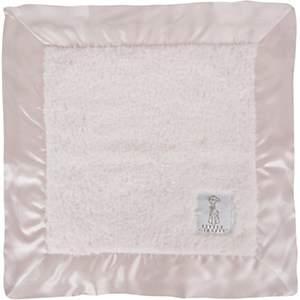 Little Giraffe Chenille Security Blanket - Pink