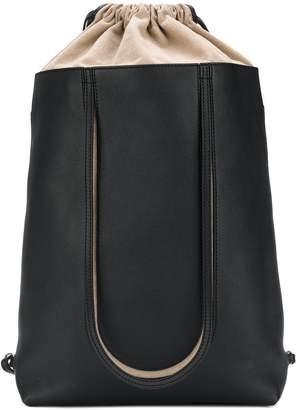 Maison Margiela logo patch backpack