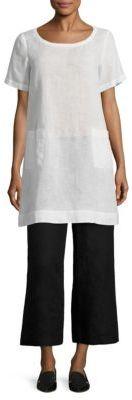 Eileen Fisher Solid Balletneck Dress $218 thestylecure.com