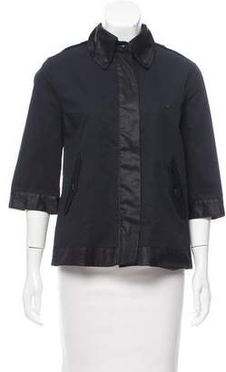Rag & Bone Three-Quarter Sleeve Swing Jacket