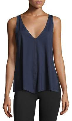 Vimmia Chance Trapeze Tank Top, Navy