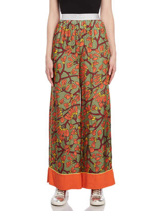 I'M Isola Marras Floral Palazzo Pants
