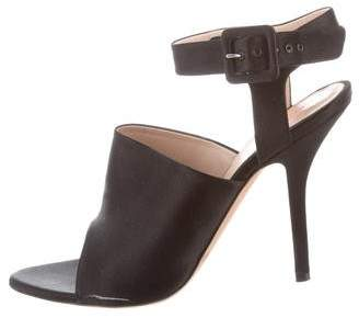 Celine Satin High Heel Sandals