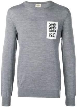 Kent & Curwen three lions sweater
