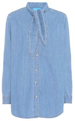 MiH Jeans Booker chambray shirt