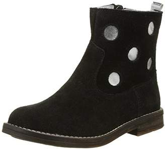 Minibel Girls' Nour Ankle Boots Black Size: 3.5UK Child