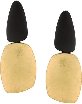 Monies contrast earrings