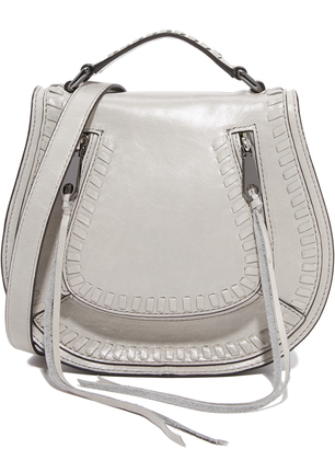 Rebecca Minkoff Small Vanity Saddle Bag $275 thestylecure.com