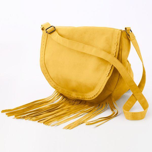 Lulu™ Lila Fringe Cross-Body Handbag