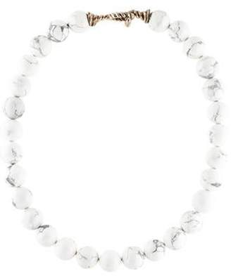 Tiffany & Co. Howlite Bead Necklace Howlite Bead Necklace