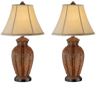 "Highland Dunes Andromeda Wicker 24"" Table Lamp Highland Dunes"