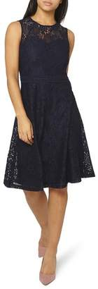 Dorothy Perkins Adele Lace Fit & Flare Dress