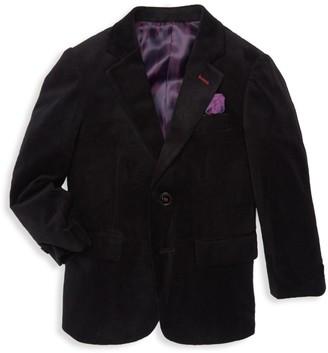 Isaac Mizrahi New York Little Boy's & Boy's Velvet Sportcoat