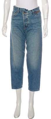 Monse High-Rise Straight-Leg Jeans w/ Tags
