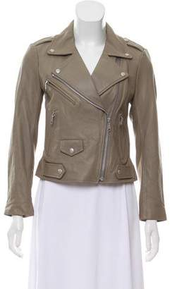 Rebecca Minkoff Leather Neoprene Moto Jacket w/ Tags