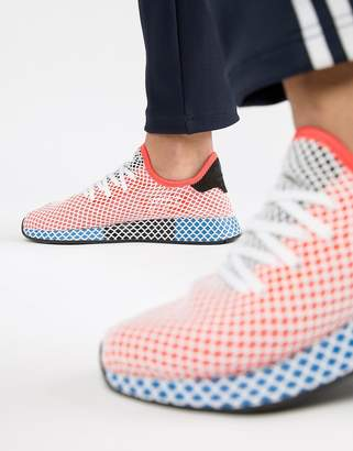 adidas Deerupt Runner Sneakers In Red CQ2624