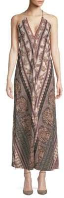 Raga Printed Halter Maxi Dress