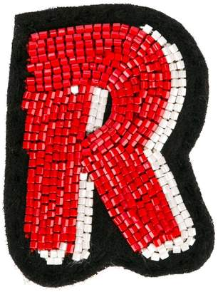 Olympia Le-Tan Alphabet patch