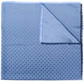 Giorgio Armani logo print scarf
