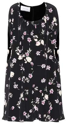 Valentino Floral-printed silk dress