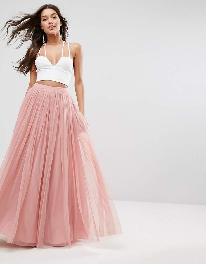 Asos Design ASOS Tulle Maxi Prom Skirt