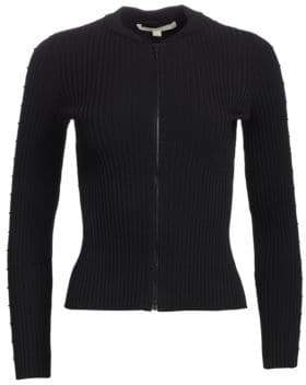 Jonathan Simkhai Staple Knit Zip-Up Jacket