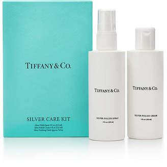 Tiffany & Co. & Co. Silver Care Kit with silver polish cream, polish spray and cloth