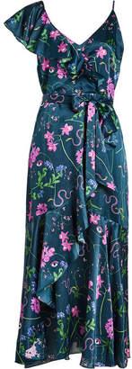 Borgo de Nor Floral Print Wrap Dress
