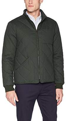Dockers Coated Cotton Diamond Quilted Jacket