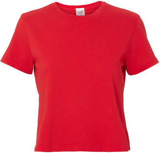 RE/DONE 1950s Boxy Red T-Shirt