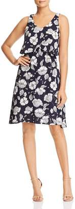 Bobeau B Collection by Lane Floral-Print Overlay Dress - 100% Exclusive