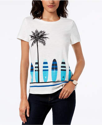 Tommy Hilfiger Surfboard Graphic T-Shirt