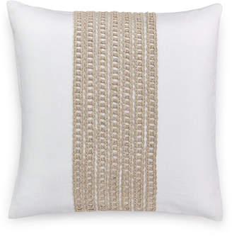 """Hotel Collection Waffle Weave 18"""" Square Decorative Pillow, Created for Macy's Bedding"""