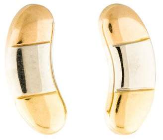 18K Tri-Color Clip-On Earrings