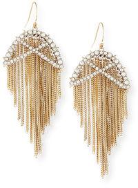 Alexis Bittar Opaline Winter Lattice Wire Earrings $245 thestylecure.com
