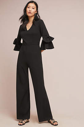 Donna Morgan Bell-Sleeved Jumpsuit