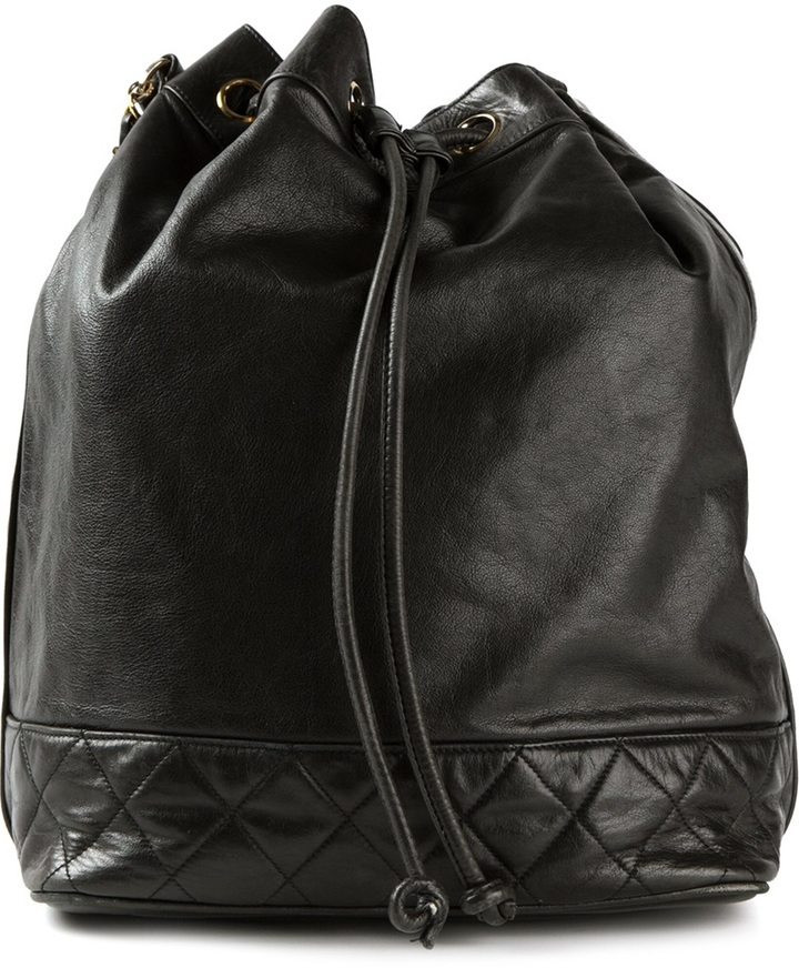 Chanel drawstring shoulder bag