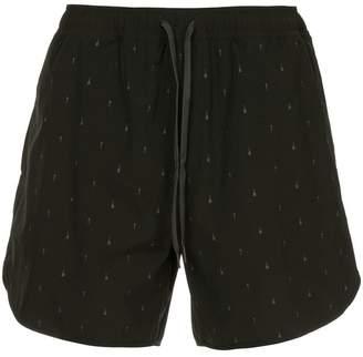 The Upside arrow print shorts