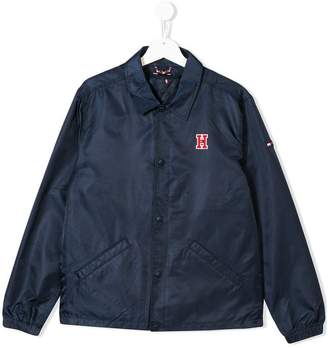 Tommy Hilfiger (トミー ヒルフィガー) - Tommy Hilfiger Junior TEEN logo patch jacket