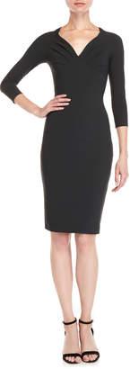 Chiara Boni Mary Shirred Midi Dress